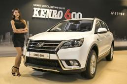 .Chinese SUVs popular in first sales in S. Korea despite doubt.