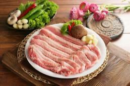 .韩国猪肉需求量大增 售价同比大幅上涨.