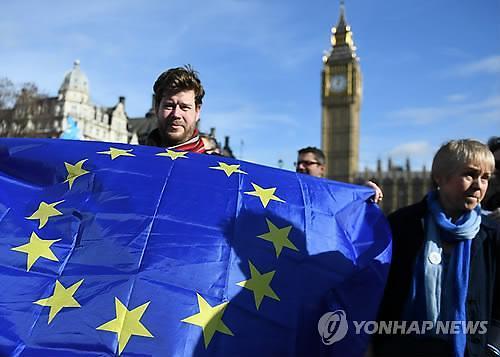 브렉시트 통보 법안 영국 상원 문턱 걸려...EU 협상 지연 변수되나