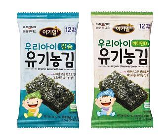 """""""아기만 먹어요"""" 일동후디스, 아기전용 유기농김 선봬"""