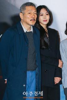 [최송희의 참견] 홍상수·김민희, 시사회가 끝나도 영화는 계속…그들만의 세상
