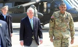 .US secretary inspects military confrontation along worlds last Cold War frontier.