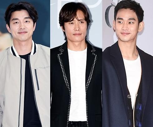 韩评选电影演员品牌价值榜 孔刘李秉宪金秀贤居前三甲