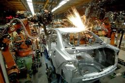 .S. Koreas manufacturing sentiment up for April: Yonhap.