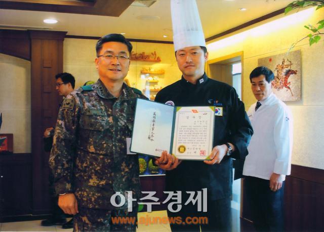 호산대 정우석 교수, 군 모범 조리병 경연대회 심사에 참여