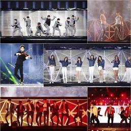 ".SM家族时隔3年唱响首尔 7月8日举办""SMTOWN LIVE""演唱会."