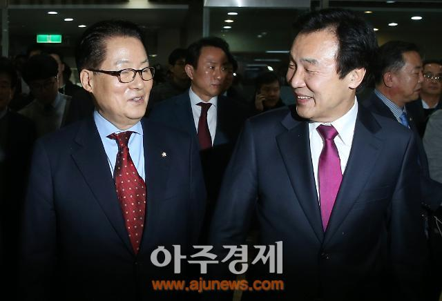 안철수 국민선대위, 상임위원장에 박지원·손학규