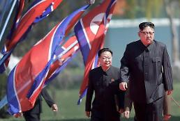 .[GLOBAL PHOTO] Kim Jong-un arrives for the official opening of the Ryomyong residential area..