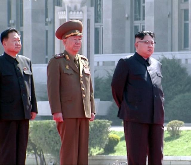 Pyongyangs central area sealed off for military parade: report
