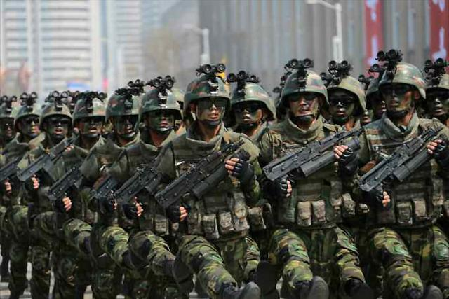 N. Koreas new special operation unit shown in military parade: Yonhap
