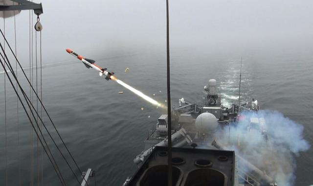 S. Korea develops new guided ship-to-ground missiles for frigates