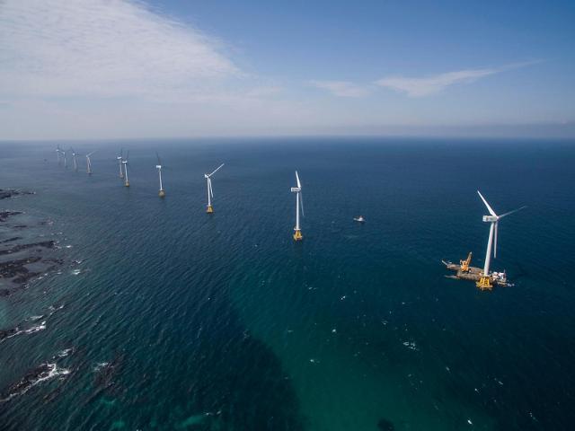 두산중공업, 5.5㎿급 해상풍력 기술 인수…풍력에너지사업 공략 강화