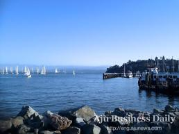 .[AJU PHOTO] Sailing in Tiburon, California.