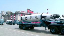 .New barge for suspected SLBM test spotted at N. Korea port: 38 North.