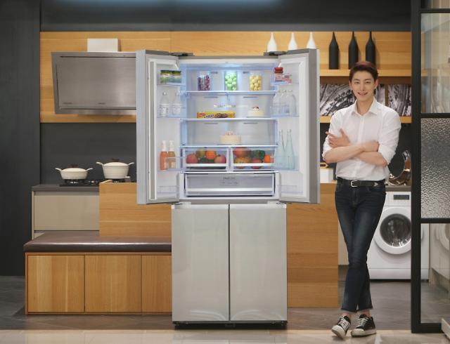 삼성전자, 싱글족 위한 '슬림 T-타입 냉장고' 출시