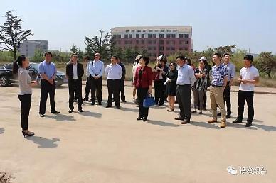 <영상산둥성>옌타이시 경제대표단, 펑라이시 방문 [중국 옌타이를 알다(203)]