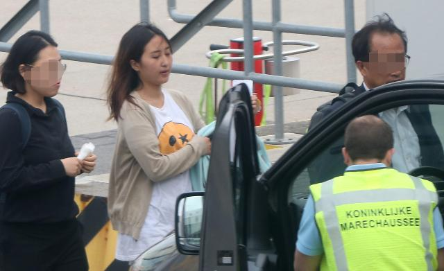 Daughter of ex-president Parks crony arrested on Korean Air plane
