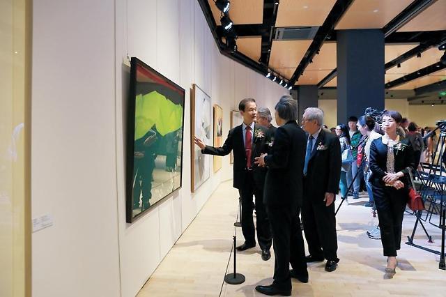 [인민화보]미술로 만나는 中• 韓,  '대한민국예술원 미술전 중국특별전'