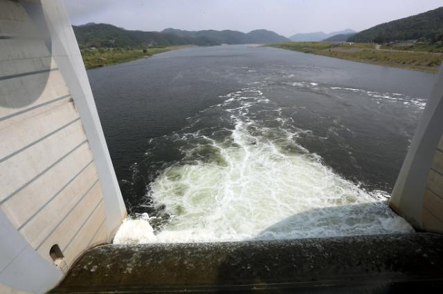 S. Korea opens river floodgates to reduce water pollution amid drought