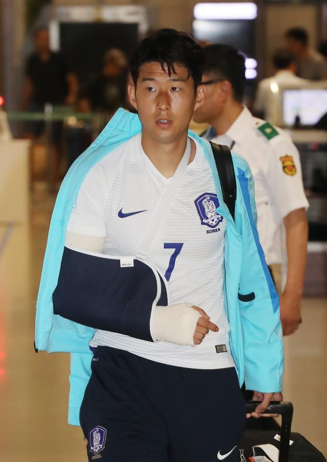 Tottenham Hotspurs Son to have surgery for fractured forearm radius