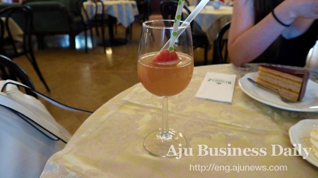 Austrian Royal dishes at Cafe Residenz