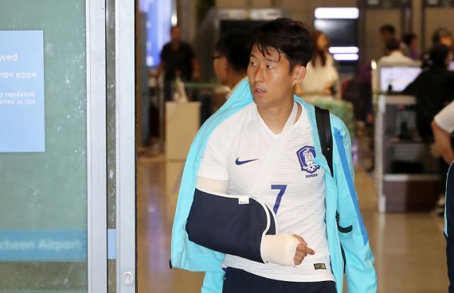 Tottenhams Son leaves hospital after surgery: Yonhap