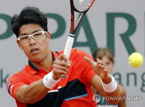 S. Koreas Chung Hyeon skips Wimbledon with ankle injury: Yonhap