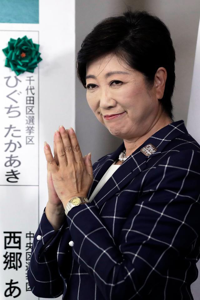 차기 여성총리 자리 예약? 고이케 돌풍부는 일본