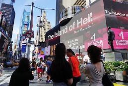 .视频《军舰岛的真相》投放纽约时代广场.