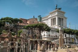 .1,800-year-old ruins accidently discovered during subway construction in Rome.