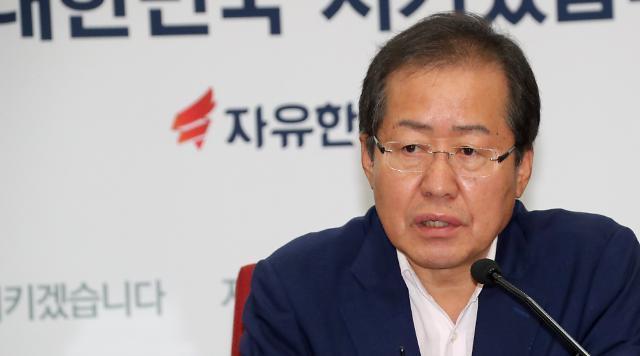 한국당, 사무총장에 홍문표…여연 원장에 김대식 임명