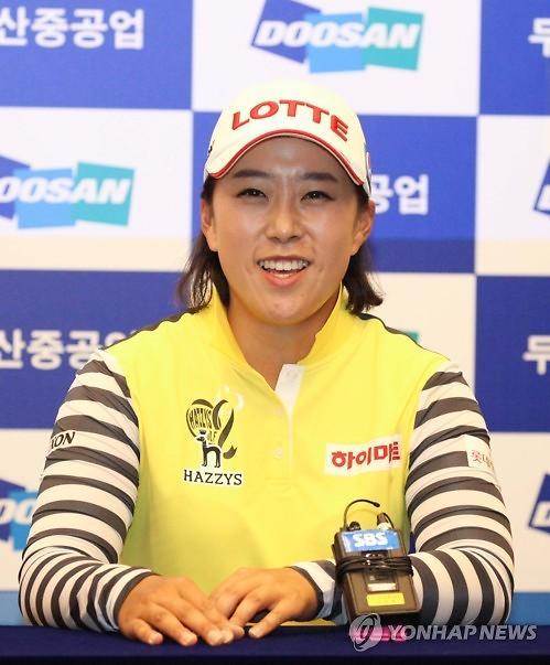김해림, 처음 출전한 JLPGA 투어서 우승