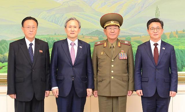 韩政府向朝方提议举行军事会谈及红十字工作接触