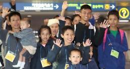 .30名缅甸难民明入境韩国.