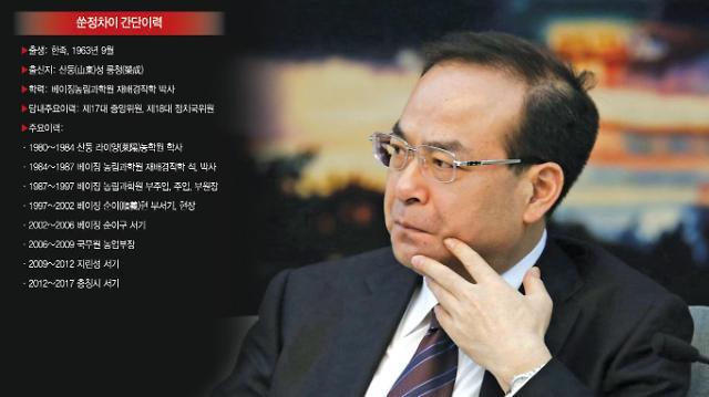 """""""명품시계狂에 수많은 혼외자식"""" 낙마 쑨정차이 비리 폭로 잇따라"""