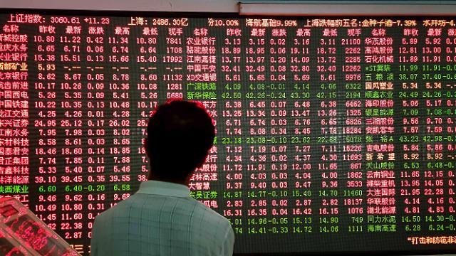 [중국증시 마감] 급등락 속 상하이 간신히 0.12% 상승, 선전은 급락