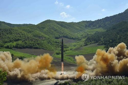 S. Korea accuses N. Korea of crossing red line with ICBM test launch
