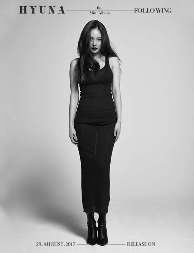 Female singer HyunA drops teaser images for comeback album