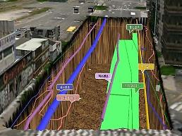 .Busan city to draw 3D map of underground space to prevent accident.