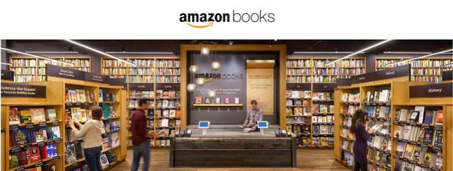 Amazon opens first bookstore in the Bay Area, California