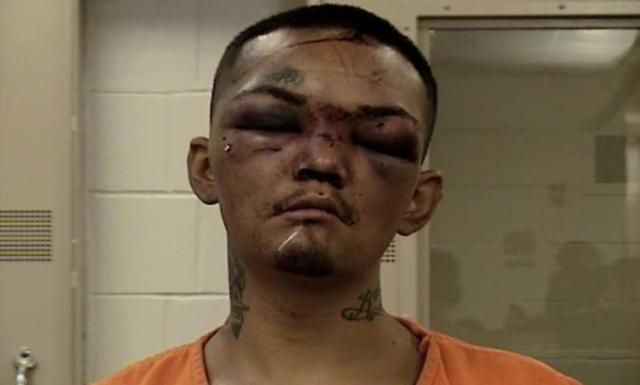 Man tries to carjack 3 football players but turns into their punching bag instead