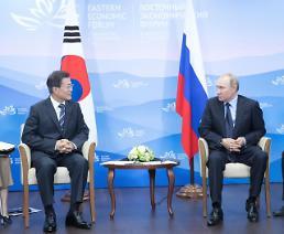 .韩俄元首在海参崴会晤 深入探讨半岛和平方案.