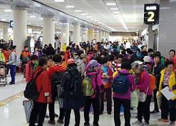 """.中国旅游局官网外国游客统计信息""""消失"""" 韩政府担忧在中韩国民众安全."""