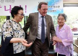 .Mayor proposes council to recommend comfort women as Nobel prize candidates.
