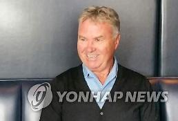 Dutchman Hiddink voices desire to play advisory role for S. Korea