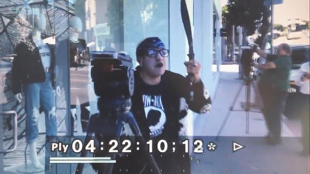 Woman wielding gun and machete at Kardashian store arrested