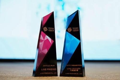 韩卡通品牌LINE FRIENDS获中国授权展两项大奖