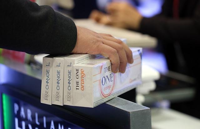 韩国上调香烟税 促仁川机场免税店香烟销售连续两年居首