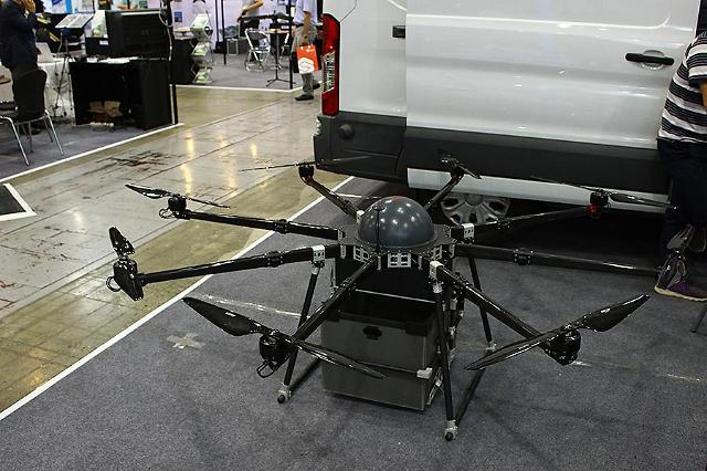 S. Korea tests unmanned drone delivery for postal service