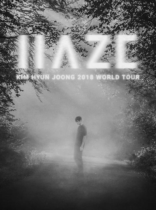 金贤重12月2日开启世界巡演 发布预告照引粉丝期待